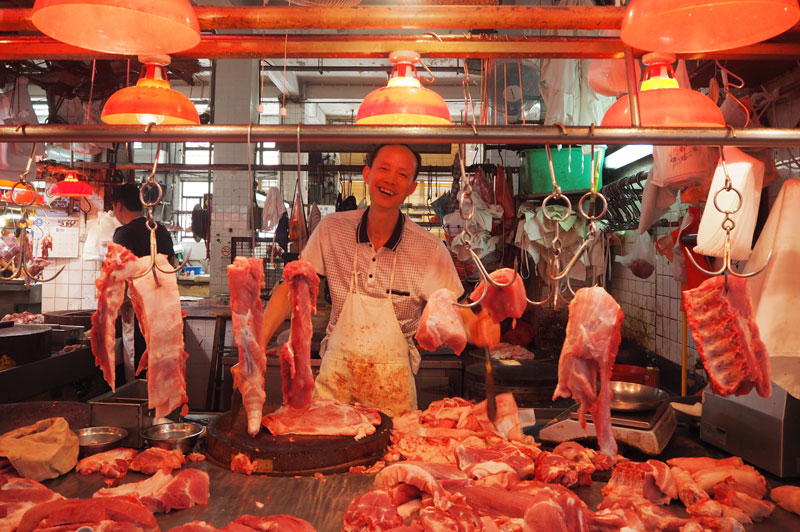 Meat section, Red Market