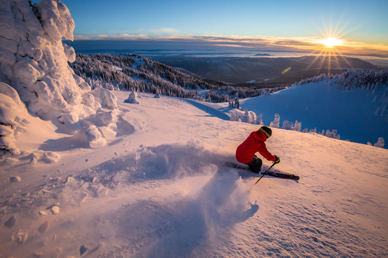 Sunpeaks Winter Local Lens