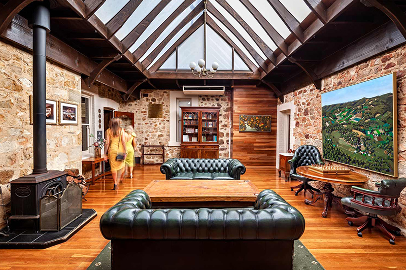 The Library at Mount lofty House