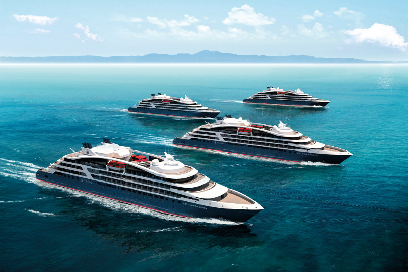 Ponant Explorers luxury yachts