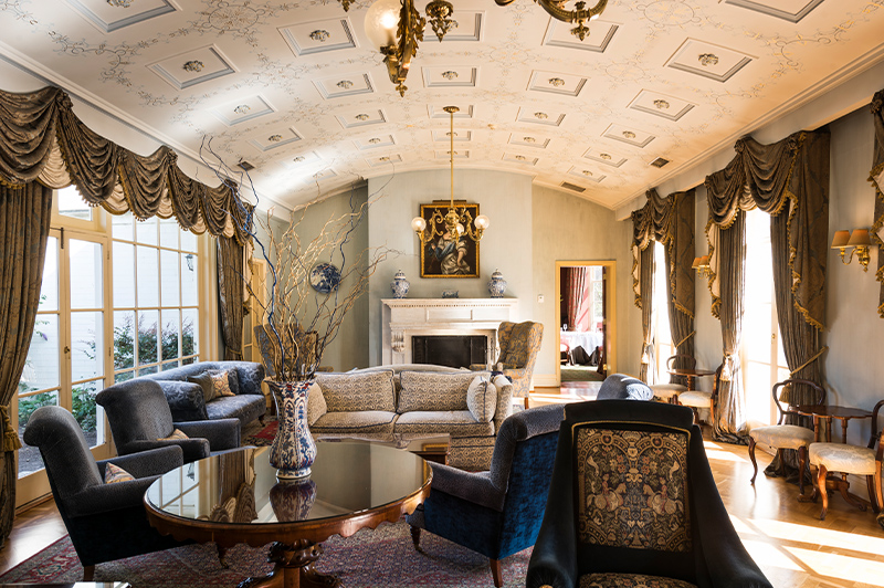 Chateau Yering Sitting Room, Yarra Valley