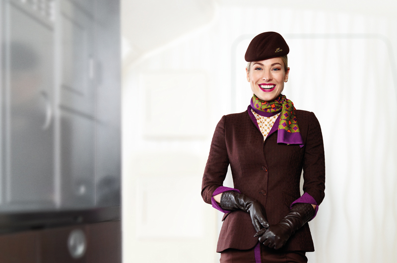 Etihad Hero Flight Portrait