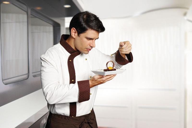 Etihad Airways in-flight chef