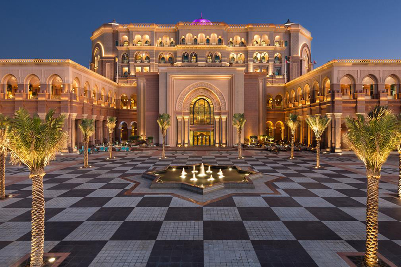 Emirates Palace (image courtesy of Emirates Palace)