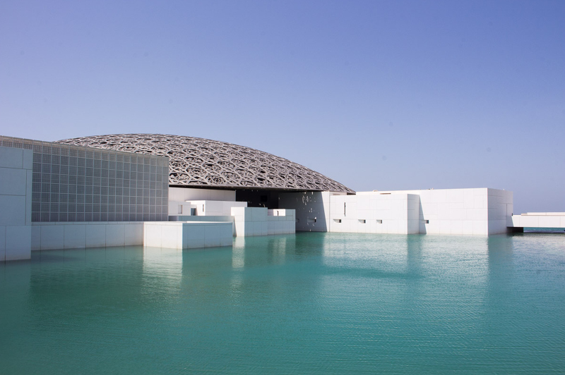 The Louvre Abu Dhabi photographed by James Taylor (Instagram - @jimmytayles)