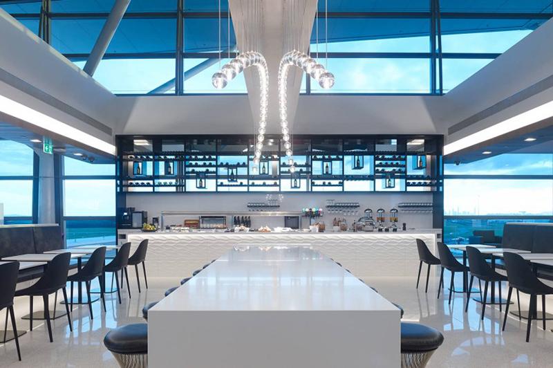 Air NZ Lounge