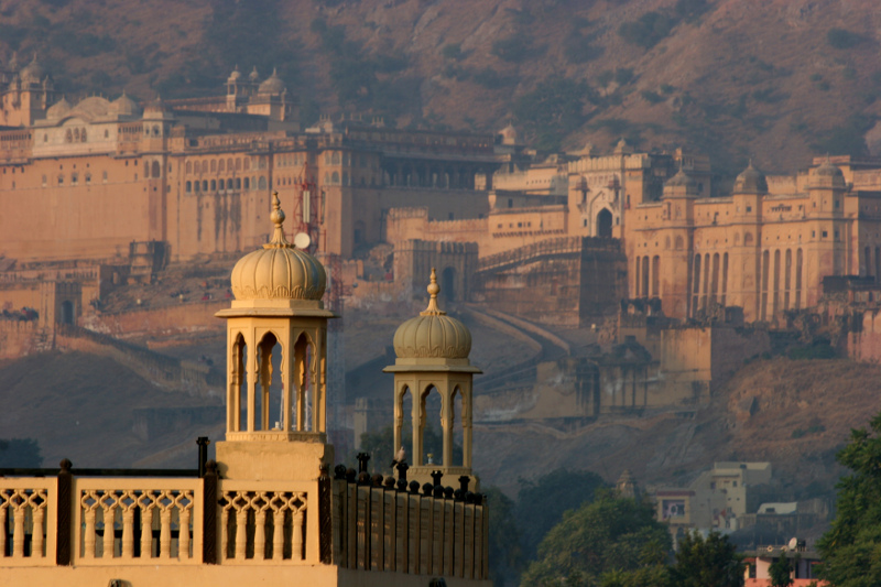 The Amber Fortress at Jaipur
