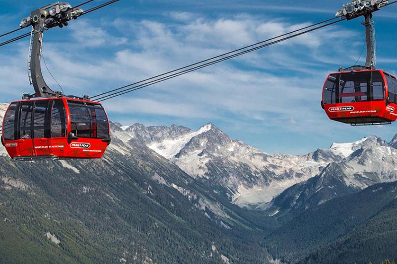 Peak2Peak Gondola (image courtesy of Whistlerblackcomb.com)