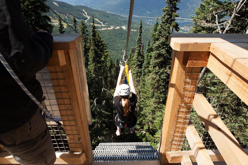 Ziptrek Eco Tours, Whistler (image courtesy of Ziptrek Eco Tours)