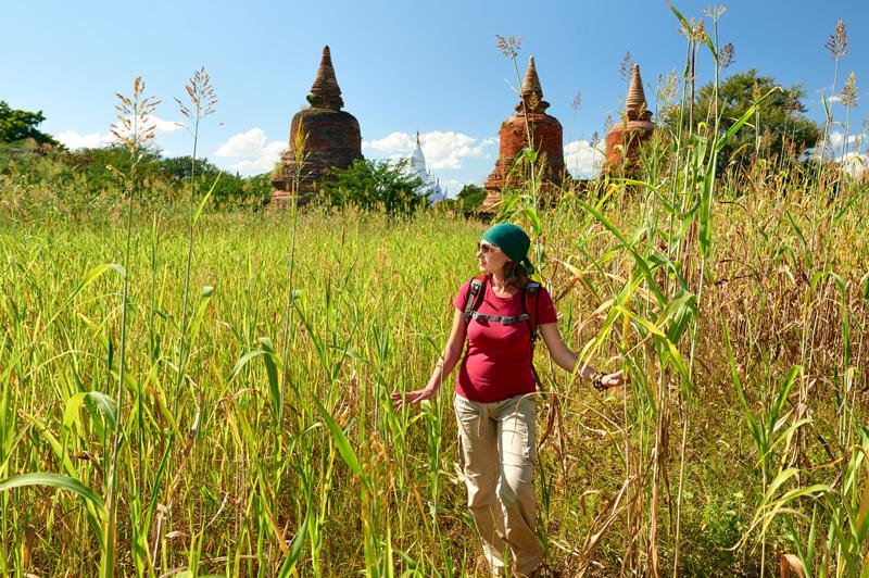 Bagan Walk, Myanmar