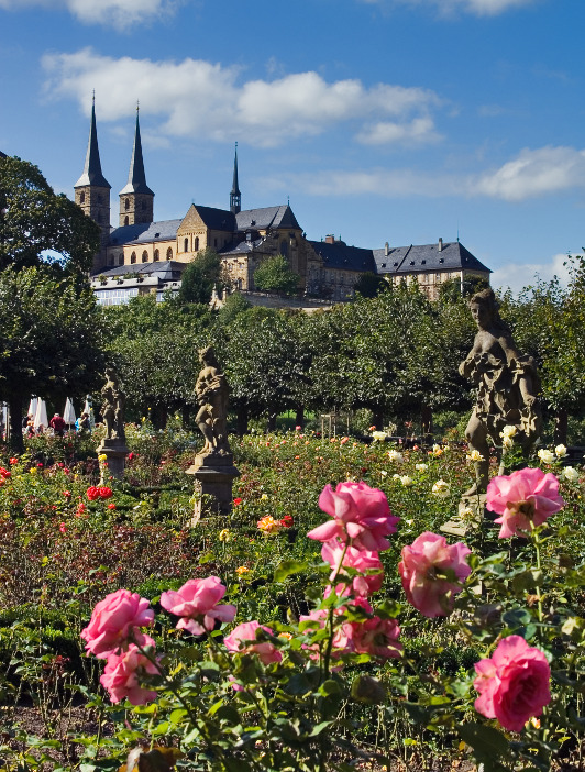 Bamberg New Palace Rose Garden