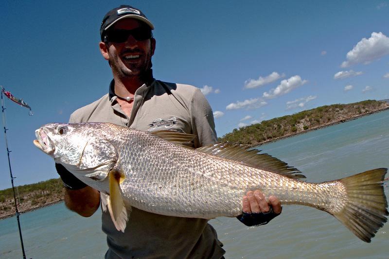 Barramundi fishing in the Kimberley
