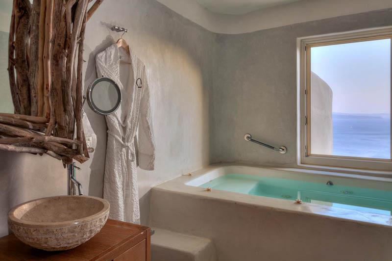 The Mystique Hotel in Santorini
