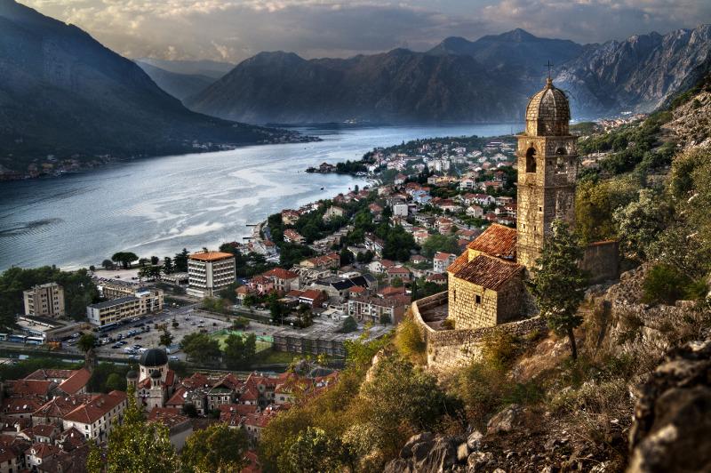 Bay of Kotor Montenegro Mediterranean
