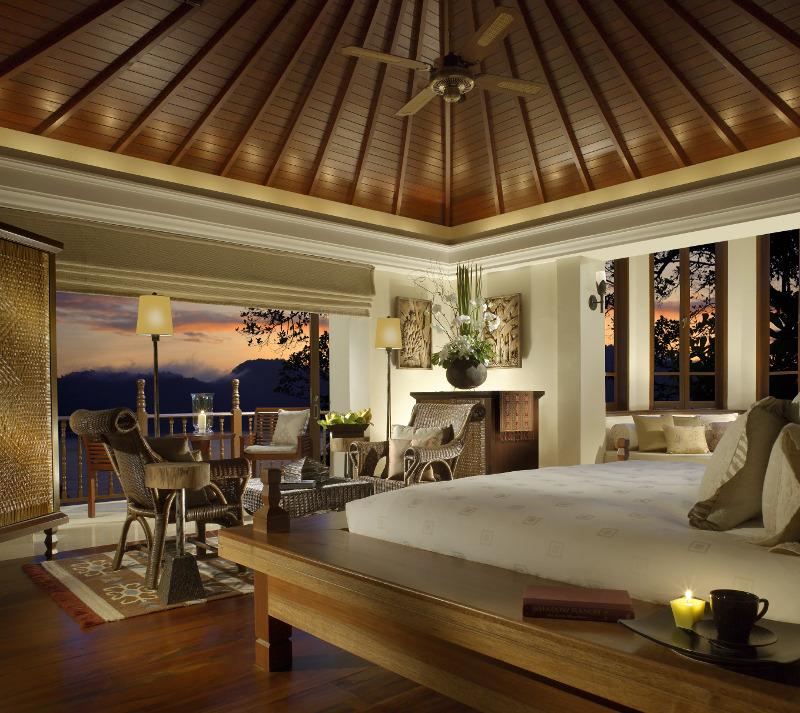 Bedroom Pangkor Laut Malaysia Island Resort