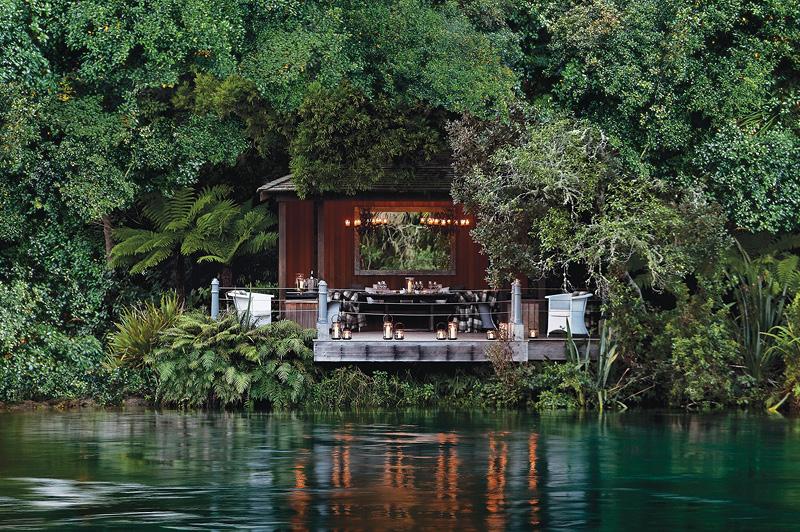 Huka Lodge, New Zealand