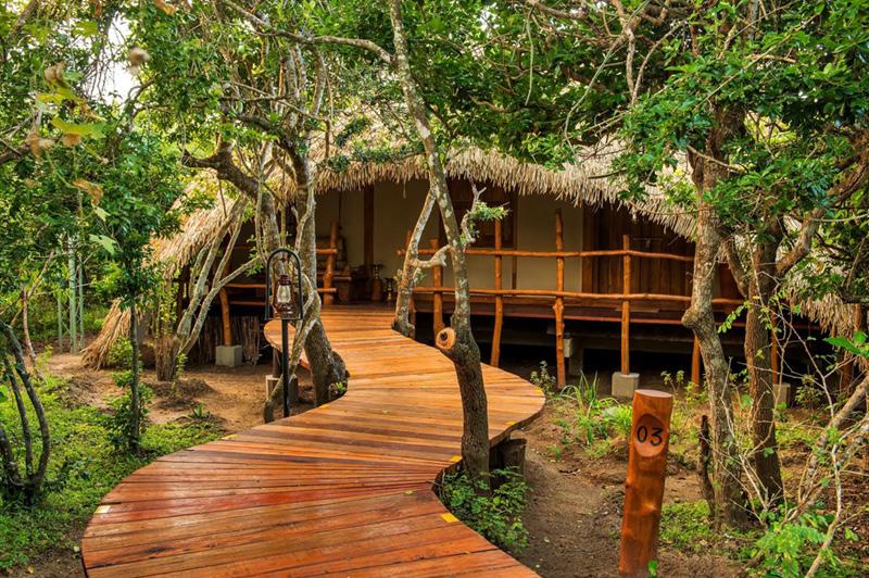 Chena Huts, Sri Lanka