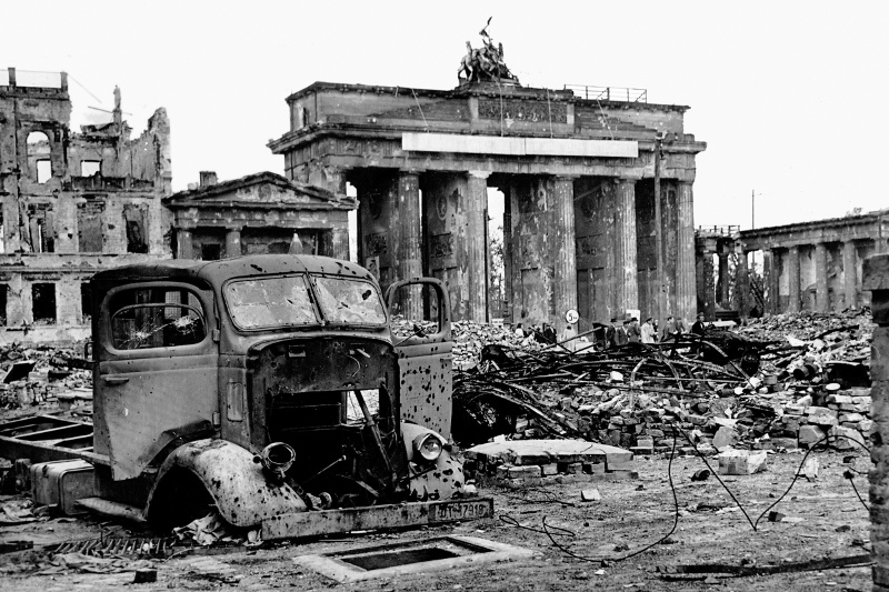 The Brandenburg Gate in World War II