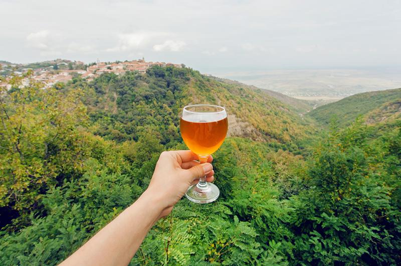 Alazani Valley in the Kakheti region, Georgia