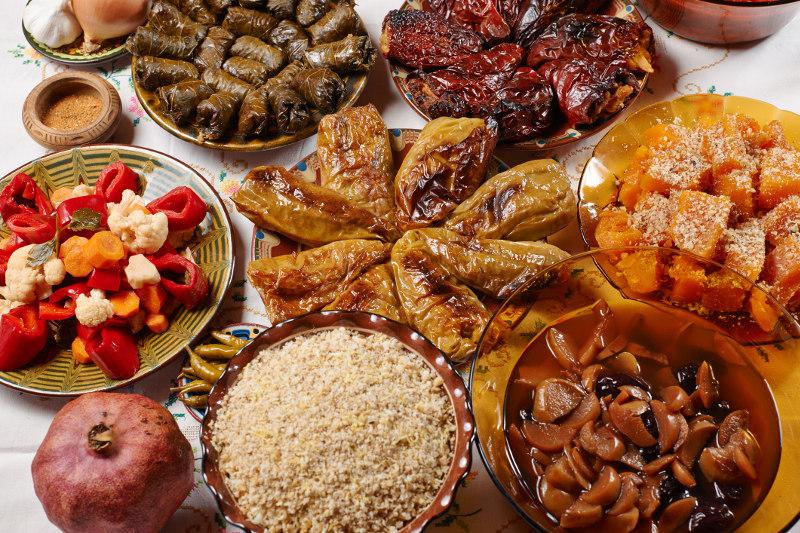 Bulgarian Christmas Dinner