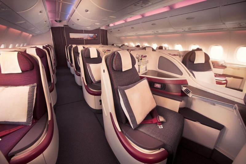 Qatar Airways Business Class Seats