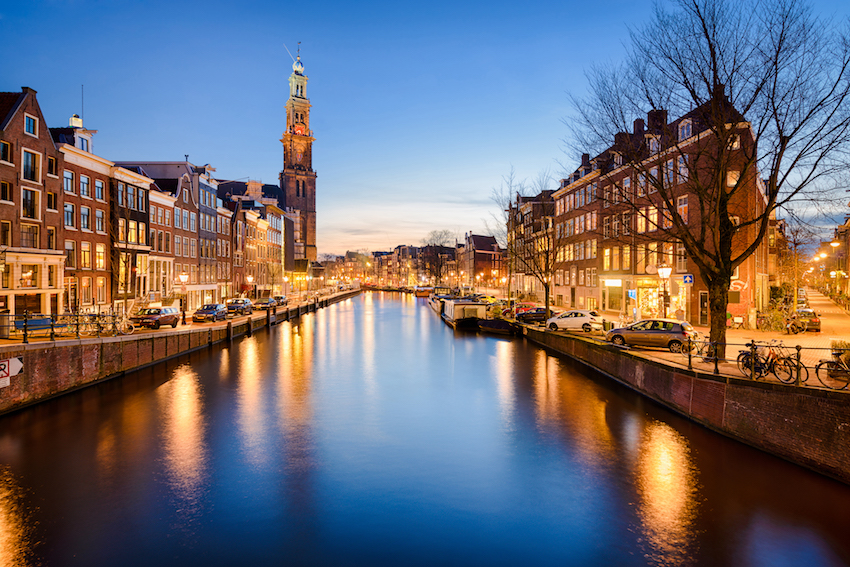 Scenic Amsterdam