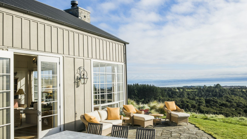 Luxury Lodges in New Zealand: The Farm at Cape Kidnappers