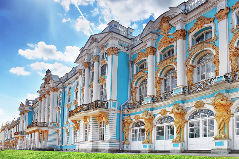 Catherine Palace, St Petersburg, Russia