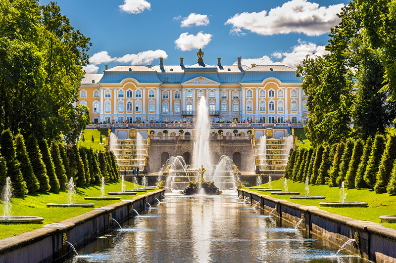 Peterhof Palace, St Petersburg, Russia