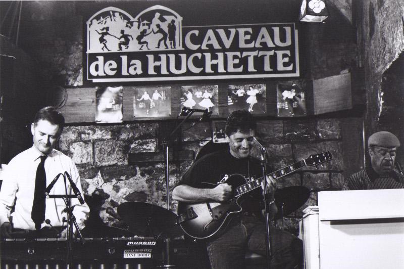 Le Caveau de la Huchette jazz club