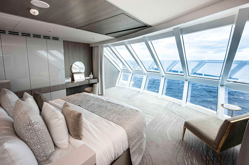 Celebrity Edge, Iconic Suite (image courtesy of Celebrity Cruises)