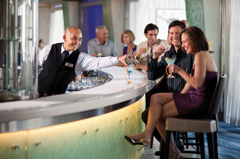 Celebrity Martini Bar