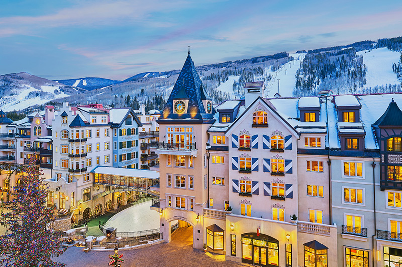 Vail Village (image courtesy of Vail Collective)