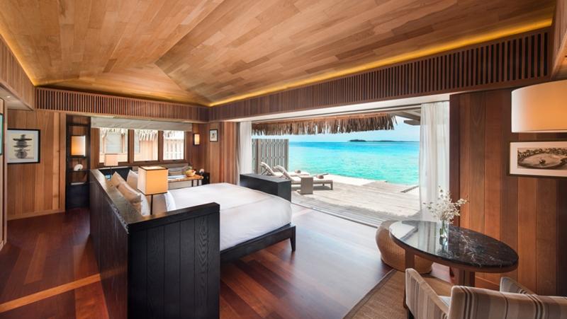 Conrad Bora Bora Nui Overwater bungalow