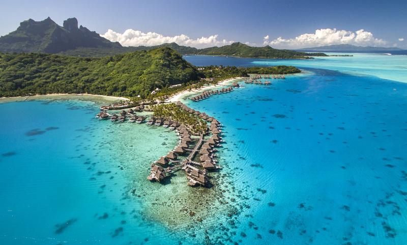 Conrad Bora Bora Nui Aerial HR
