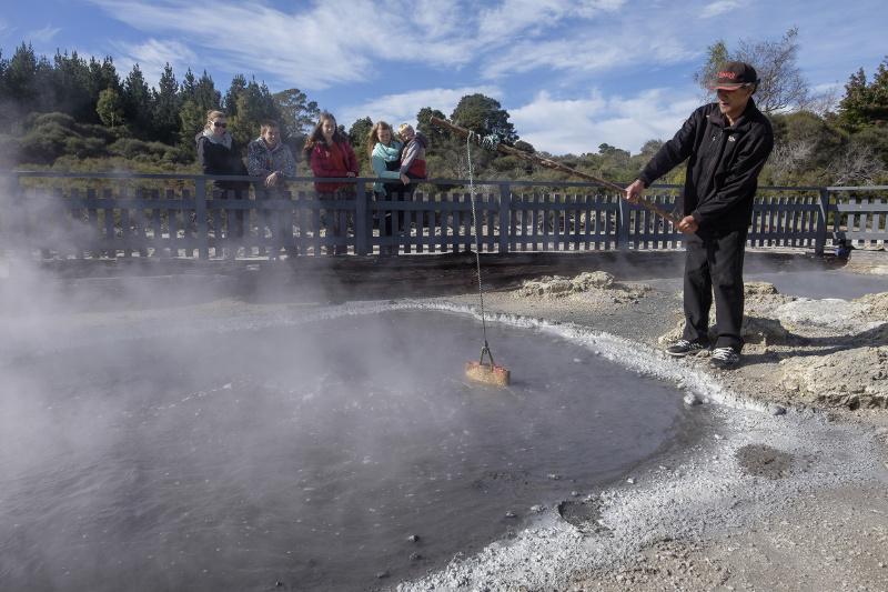 Cooking pool Hells Gate