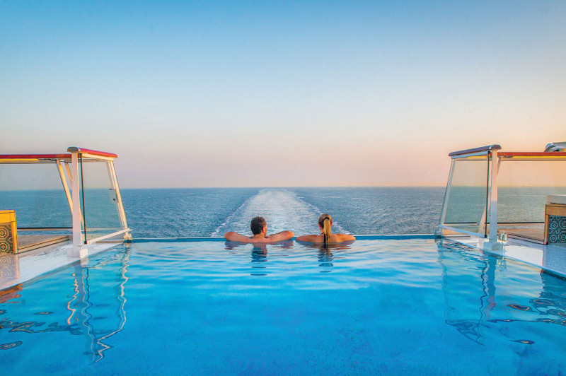 Viking Cruises Infinity Pool