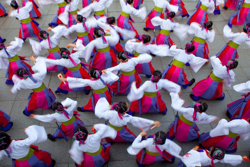 Yosakoi dancers Tokyo