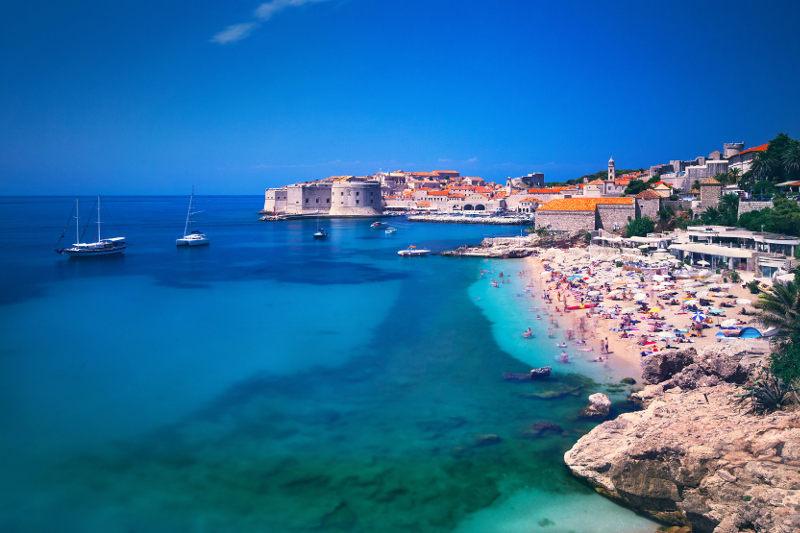 Dubrovnik in Croatia
