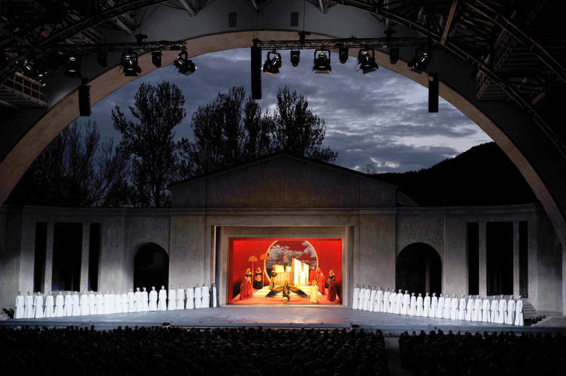 Passion Play theatre Oberammergau