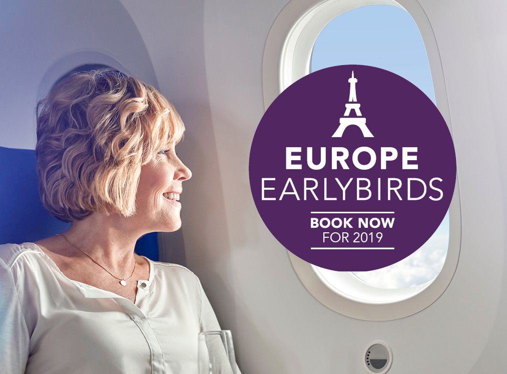 Europe Earlybird Airfares