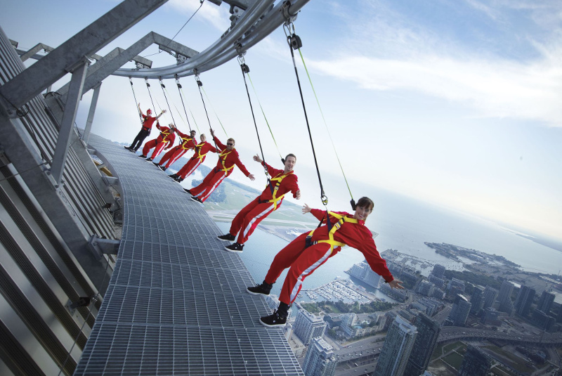 CN Tower EdgeWalk, Toronto