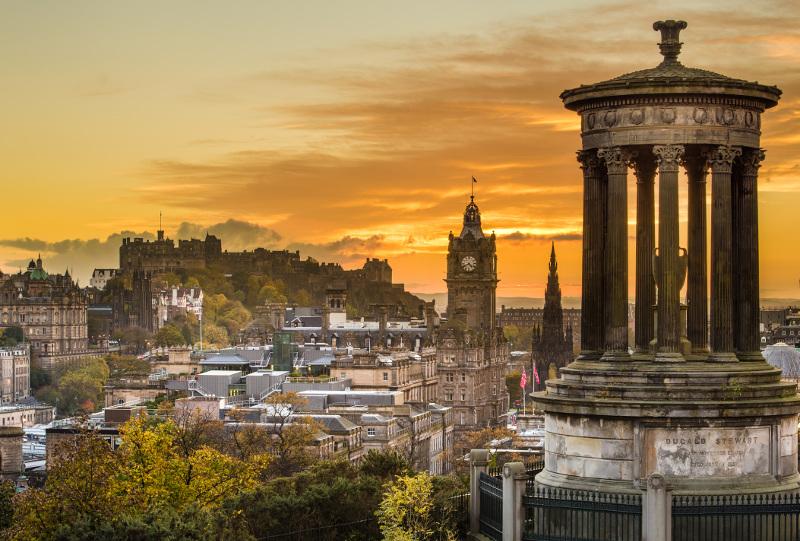 Edinburgh's charming, historic skyline