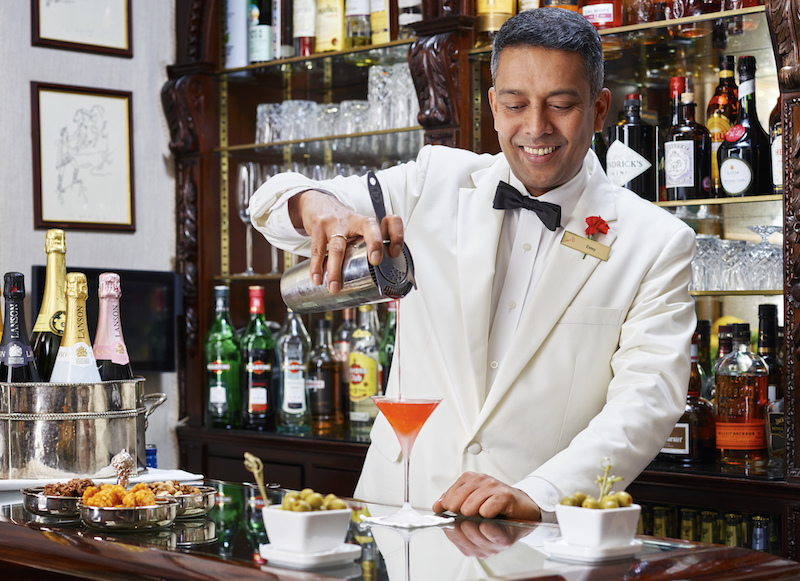 Esley, creator of London's best Martini Egerton House London