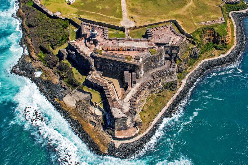 El Morro fortress Puerto Rico