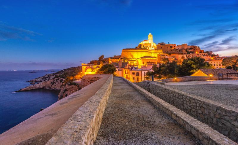 Entrance to Dalt Vila, Ibiza