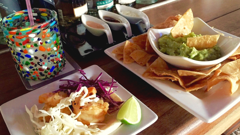 local food in mexico - fish tacos