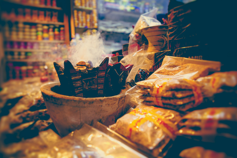 Frankincense for sale in Oman market