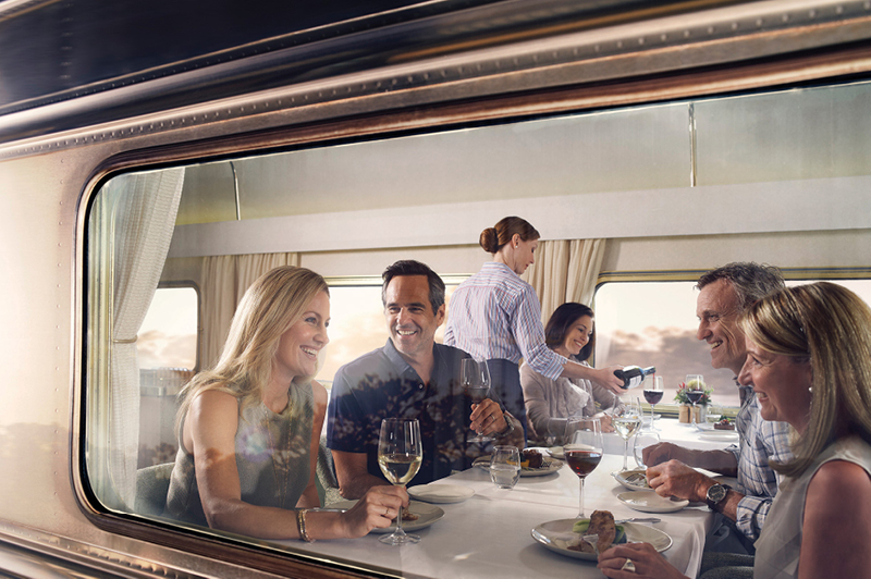 Great Southern Rail, Platinum Service Platinum Club Dinner