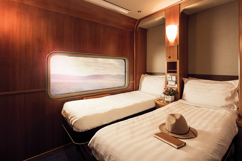 Great Southern Rail, Platinum Service Twin Cabin